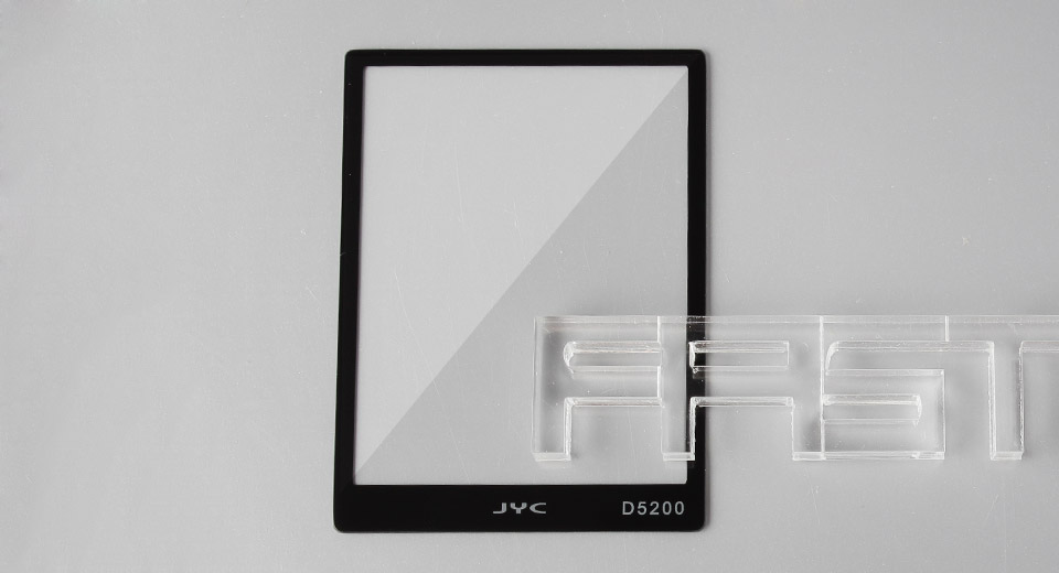 Authentic JYC Tempered Glass LCD Screen Protector for Nikon D5200