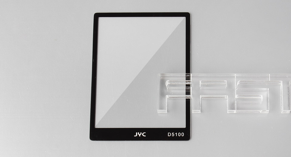 Authentic JYC Tempered Glass LCD Screen Protector for Nikon D5100
