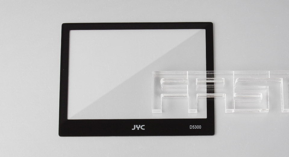 Authentic JYC Tempered Glass LCD Screen Protector for Nikon D5300