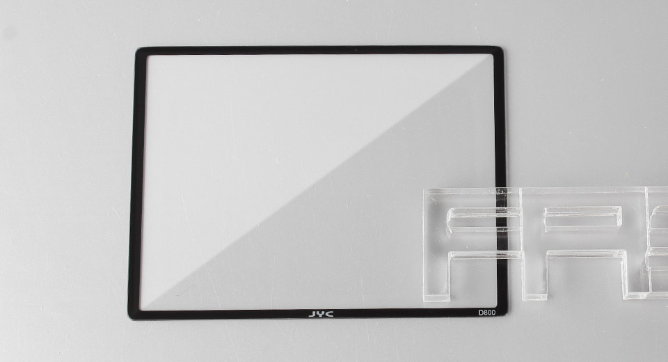 Authentic JYC Tempered Glass LCD Screen Protector for Nikon D800