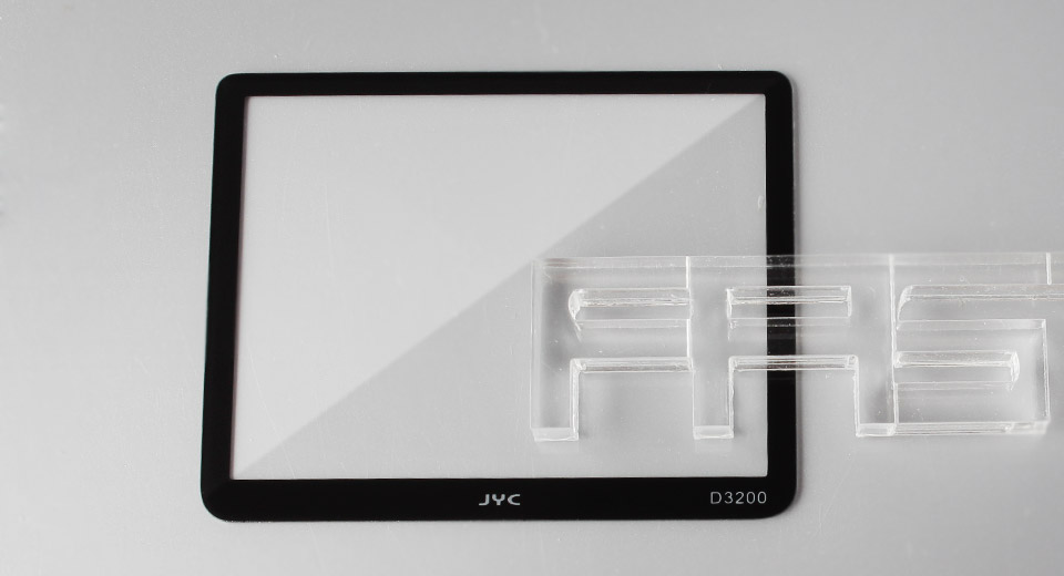 Authentic JYC Tempered Glass LCD Screen Protector for Nikon D3200