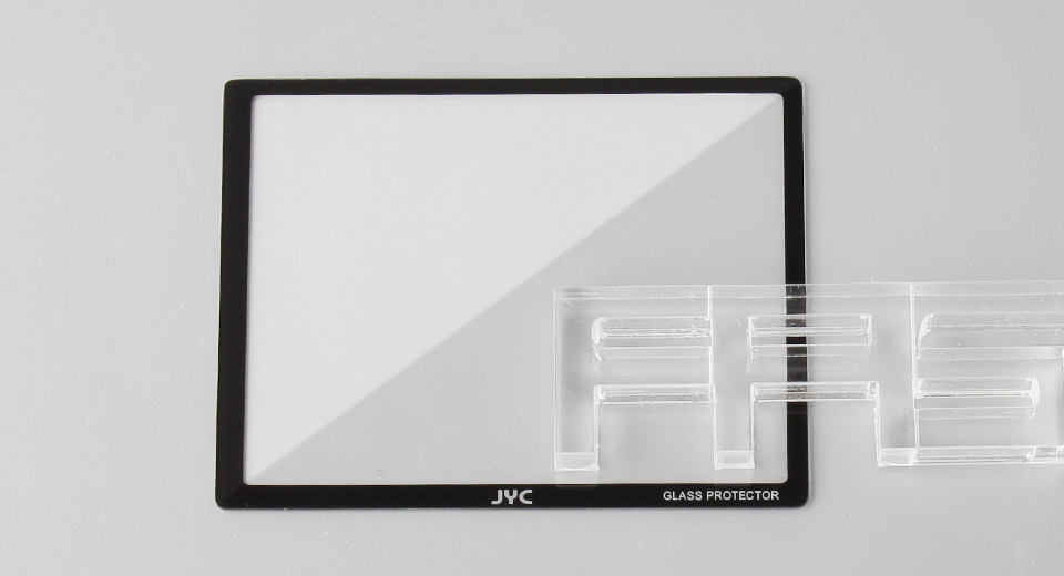 Authentic JYC Tempered Glass LCD Screen Protector for Sony A700