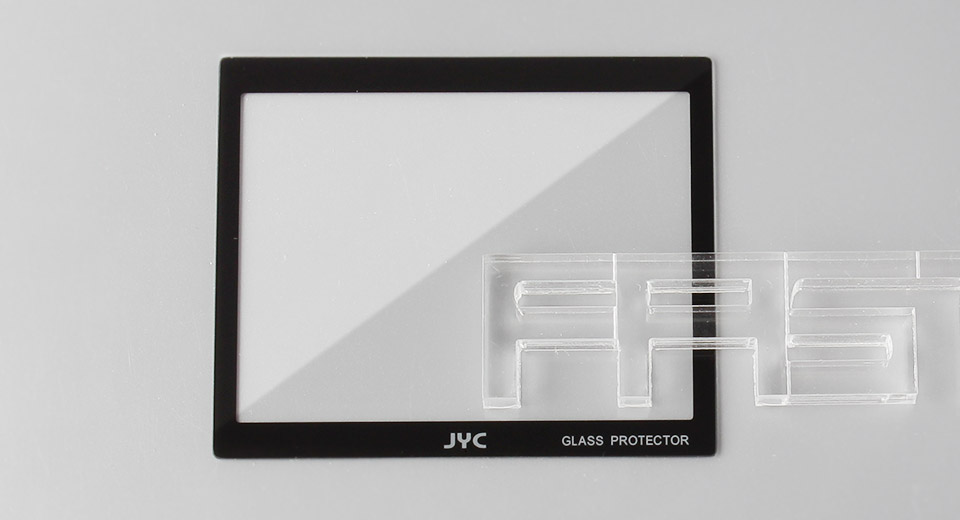 Authentic JYC Tempered Glass LCD Screen Protector for Sony A900