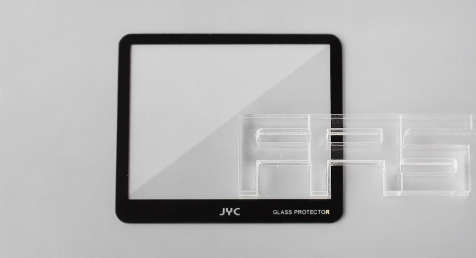 Authentic JYC Tempered Glass LCD Screen Protector for Canon 1000D