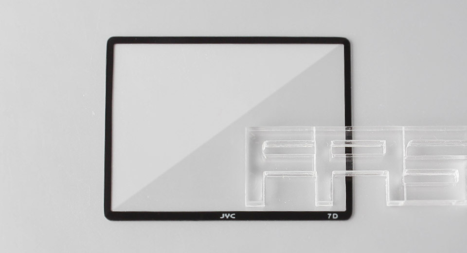 Authentic JYC Tempered Glass LCD Screen Protector for Canon 7D