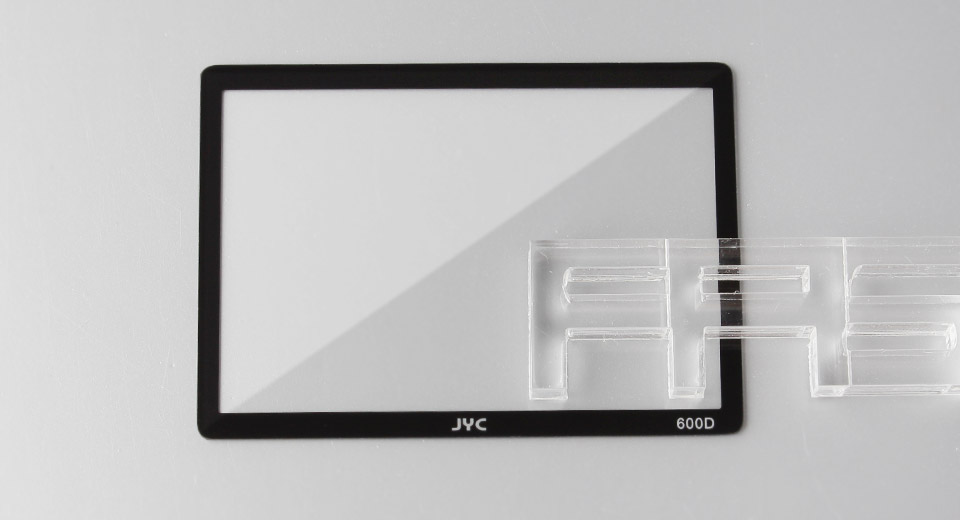 Authentic JYC Tempered Glass LCD Screen Protector for Canon 600D