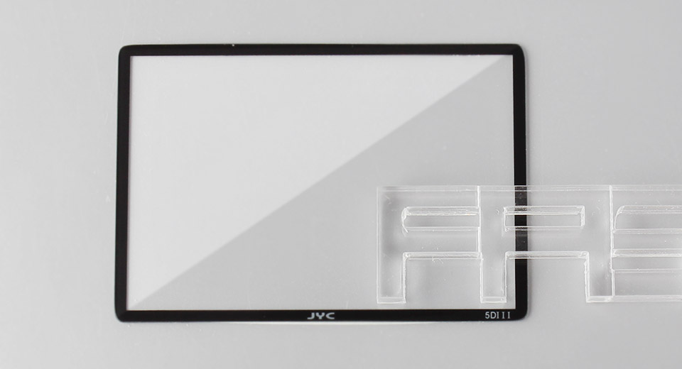 Authentic JYC Tempered Glass LCD Screen Protector for Canon 5D Mark III