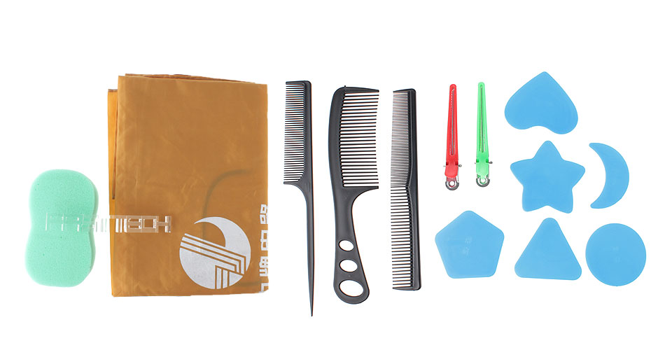 Household Hair Cutting Tools Kit for Children (13 Pieces)