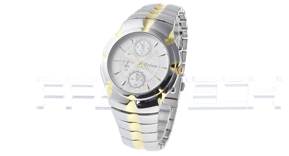 841a0cc0f71 Feiwo ET7CAC11E 1146G Men s Steel Band Analog Quartz Wrist Watch  C9A20FE1CBD Computer Hardware