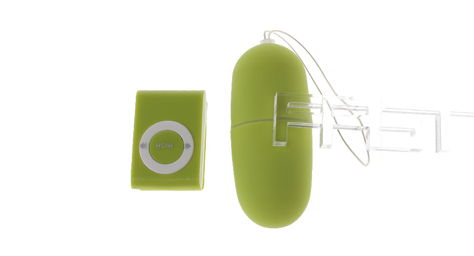 MP3 Styled Remote Control Vibrator Sex Toy for Women