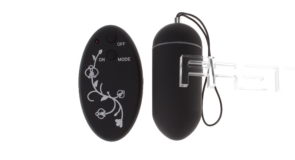 Flower Pattern Remote Control Vibrating Egg / Massager Sex Toy for Women