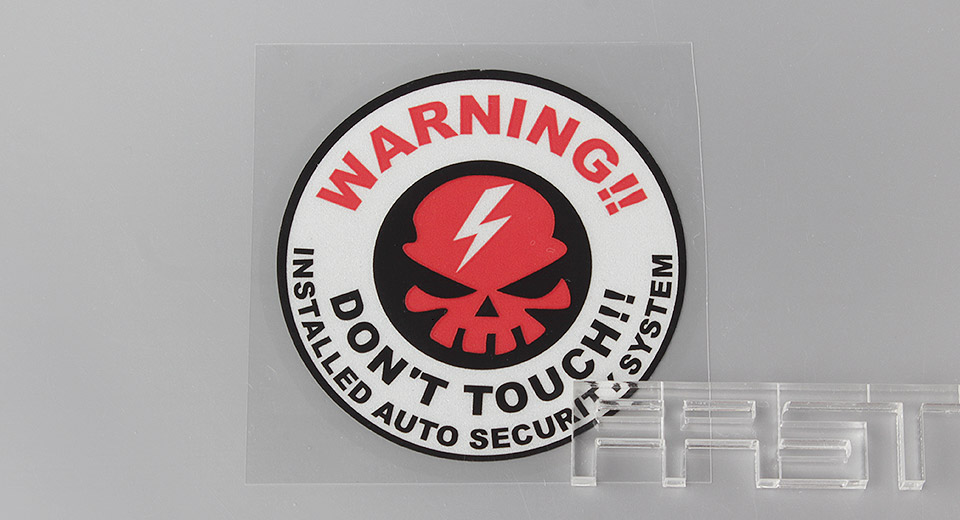 Image of A2 Universal 3M Reflective Car Decoration Sticker (Small Size)