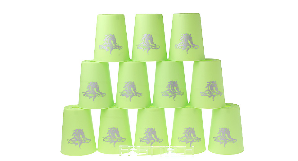 YJ YJT8001 MoYu Speed Stacks Competition Cups (12-Pack)