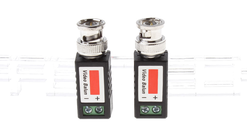 LLT-202E BNC Passive Video Balun Transceiver (Pair)