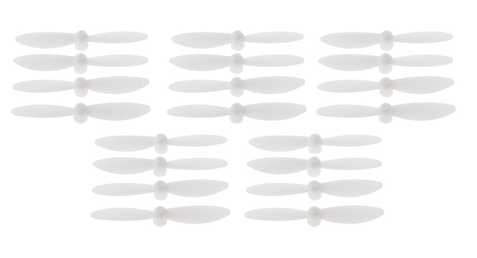 UL43201 Propeller Blades for Cheerson CX-10 R/C Quadcopter (20 Pieces)