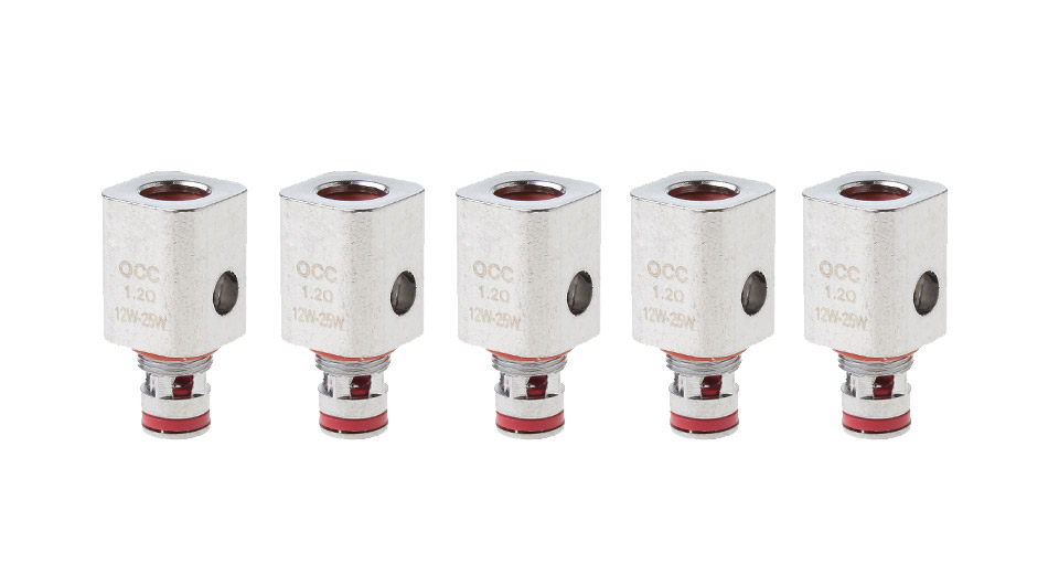 Replacement OCC Coil Head for SUBTANK Clearomizer (5-Pack)