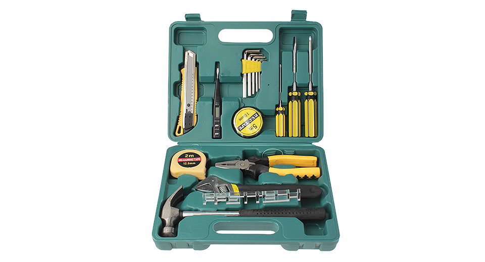 LC8016 Multifunction Car Repair Tools Kit (16-Piece Set)