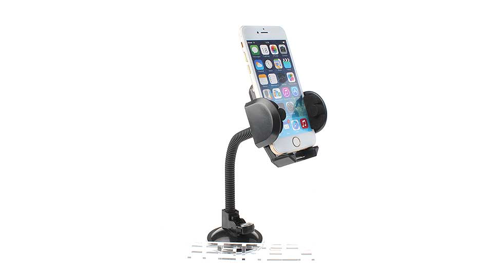 Multifunctional Car Suction Cup Mount Cellphone Holder Stand