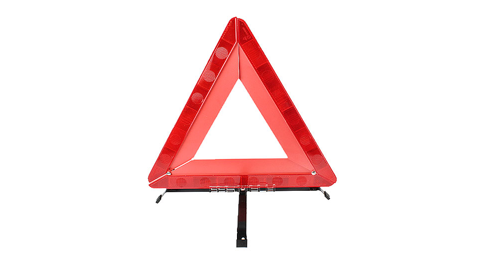 Foldable Reflective Triangle Car Emergency Breakdown Warning Sign