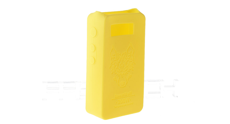 Protective Silicone Sleeve Case for Snow Wolf 200W TC VW APV Mod 200W TC/VW Mod, Yellow