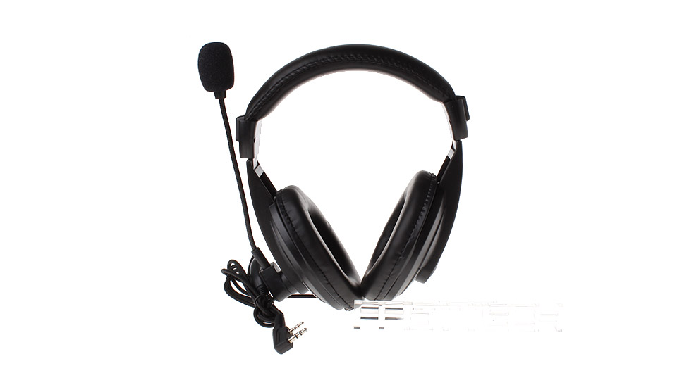 Image of 2-Pin VOX Headphone w/ Mic for Walkie Talkie