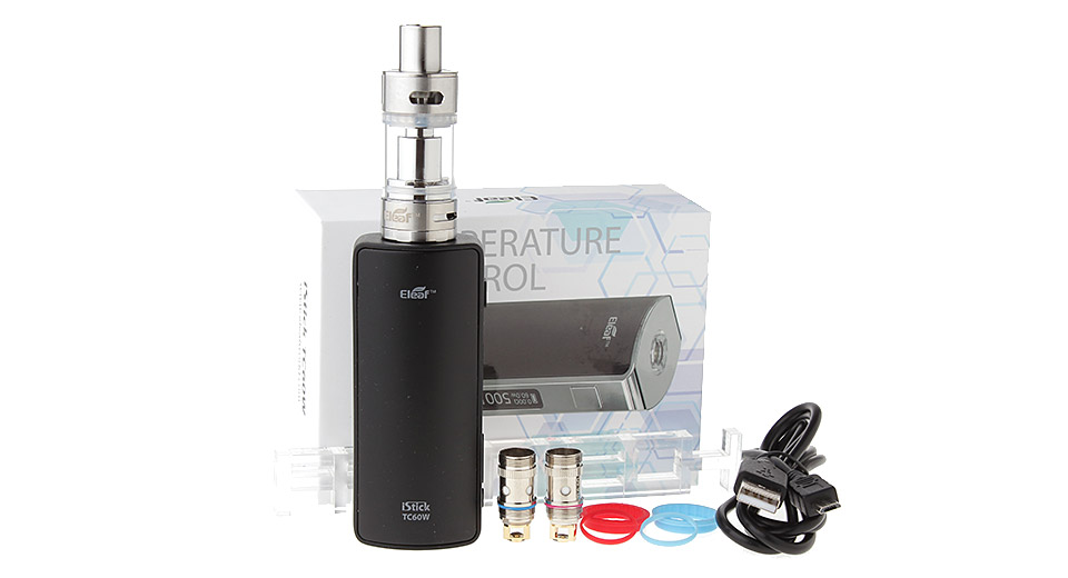 Authentic Eleaf iStick 60W TC VW APV Box Mod w/ MELO 2 Clearomizer Kit