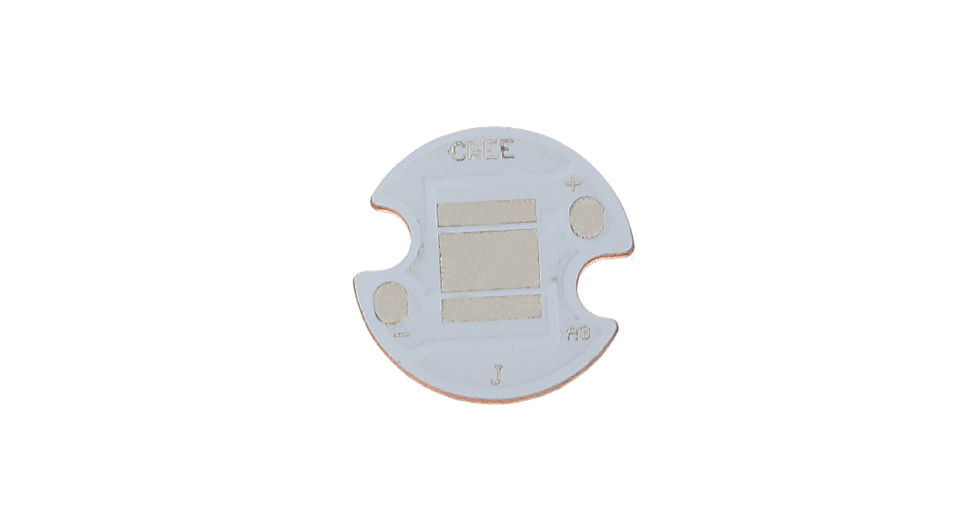 Image of 14mm Copper Base Plate For CREE XHP50 LED Emitters
