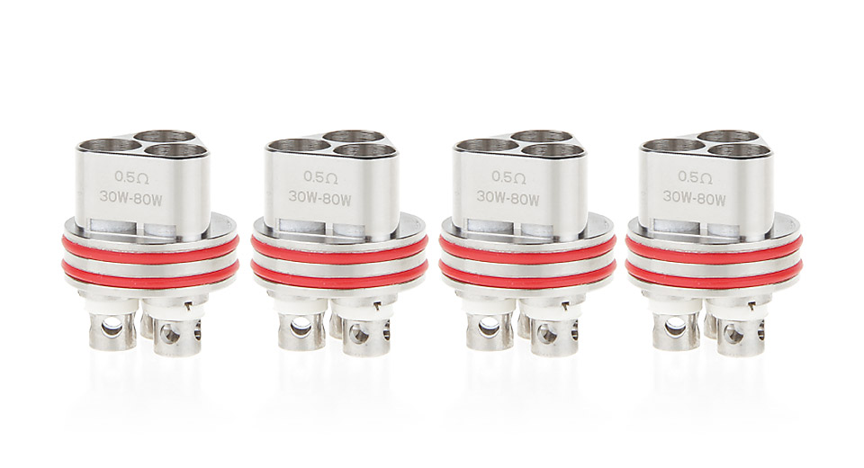 Image of Authentic Smowell Hatrick Replacement Triple Coil Head (4-Pack)