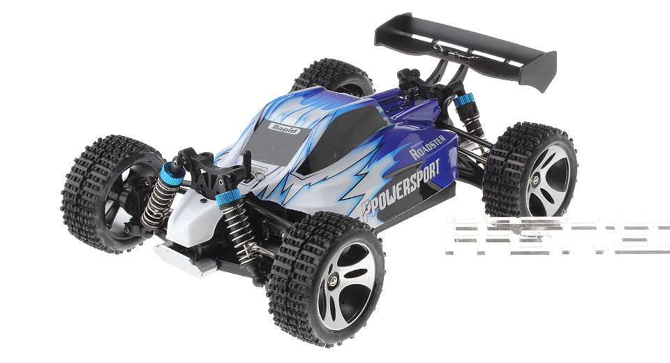 Authentic WLtoys A959 1:18 Scale 4CH 2.4GHz High Speed R/C Off-Road Racing Car