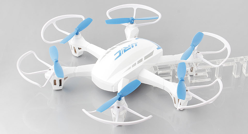 Authentic JJRC H21 4CH 2.4GHz Infrared Remote Control R/C Hexrcopter H21, Quadcopter, White + Blue