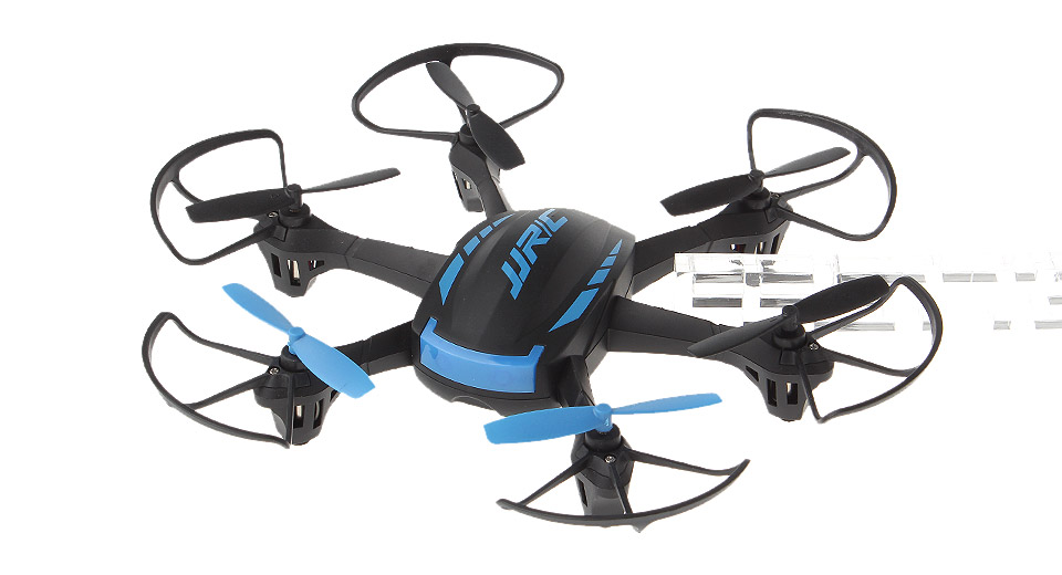 Authentic JJRC H21 4CH 2.4GHz Infrared Remote Control R/C Hexrcopter H21, Hexrcopter, Black + Blue