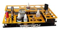 Buy Acrylic 3-Layer 36-Hole Display Stand E-Cigarettes (DIY) Acrylic, 3-Layer, 36-Hole, Yellow + Black