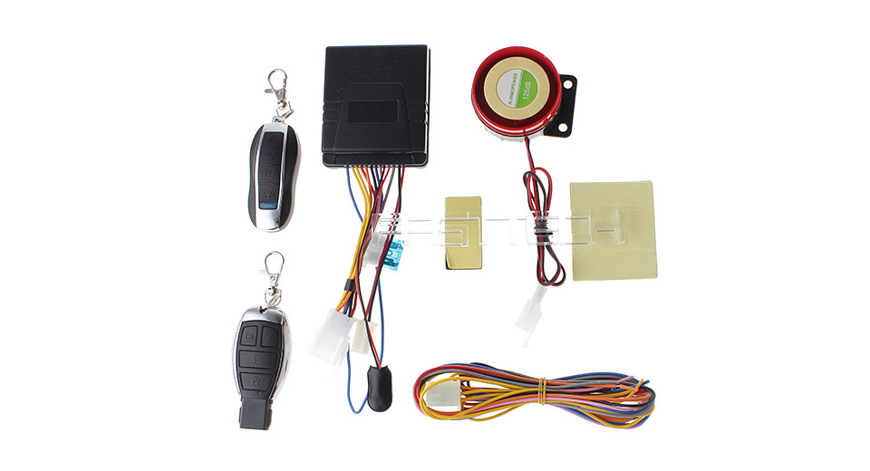 F-001 Motorcycle Anti-Theft Security Alarm System