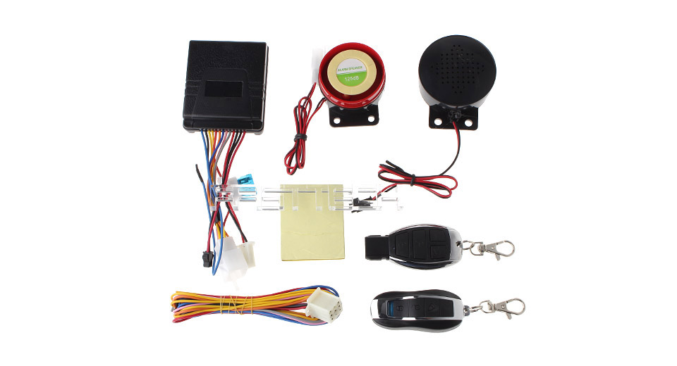 F-004 Motorcycle Anti-Theft Security Alarm System