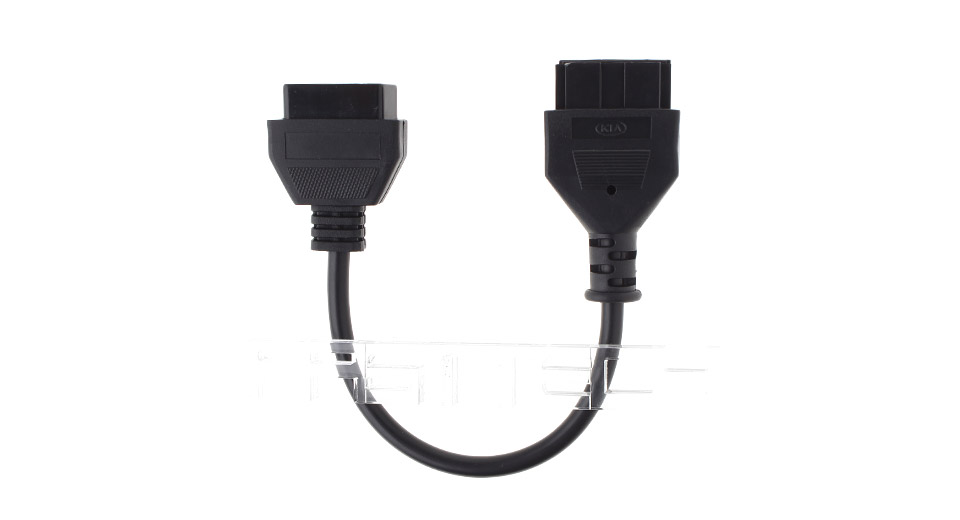 Image of 20-Pin Male to 16-Pin Female OBD II Diagnostic Adapter Cable for KIA