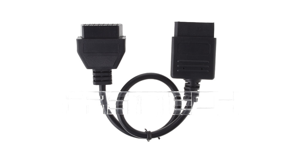 Image of 14-Pin Male to 16-Pin Female OBD II Diagnostic Adapter Cable for Nissan