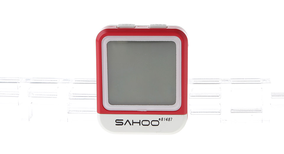 "Image of Authentic SAHOO 81487 1.3"" LCD Bicycle Computer / Speedometer"