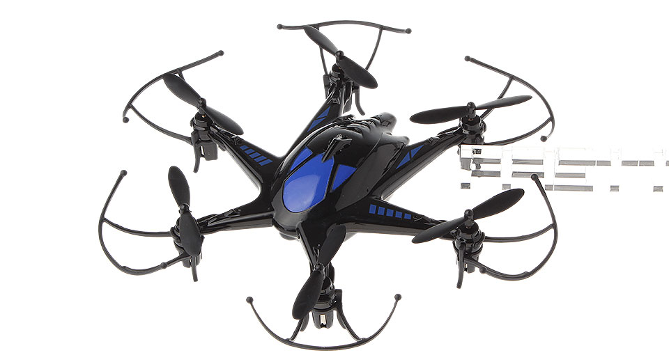 Authentic BO MING M19M 4CH 2.4GHz Remote Control R/C Hexrcopter