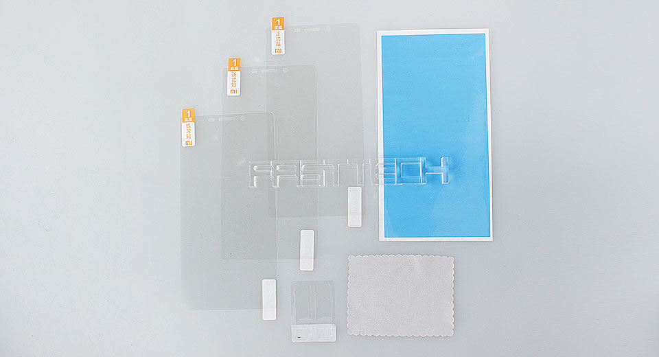 Image of Authentic Xiaomi Redmi Note PET Crystal Clear Screen Protector (3 Pieces)