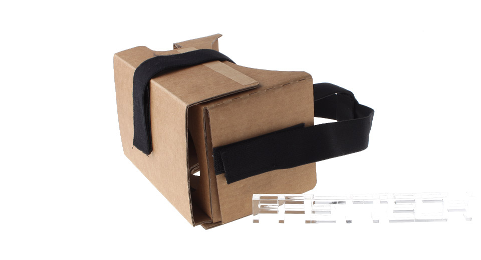 DIY Cardboard V2 3D VR Virtual Reality Goggles