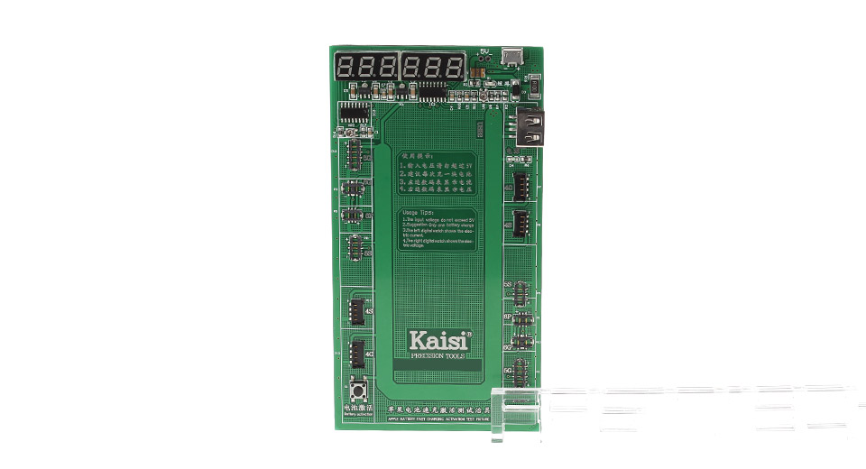 Authentic Kaisi K-9201 Battery Charger Activation Circuit Board for Apple