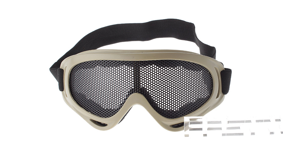 Outdoor Sports Hiking Metal Mesh Goggles