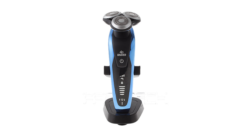 LKELEC S9511 4D Washable 3-Head Rotary Shaver