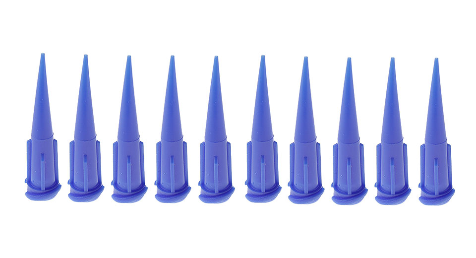 Image of 22G UV Plastic Tapered Pinhead Dispensing Needle (10-Pack)