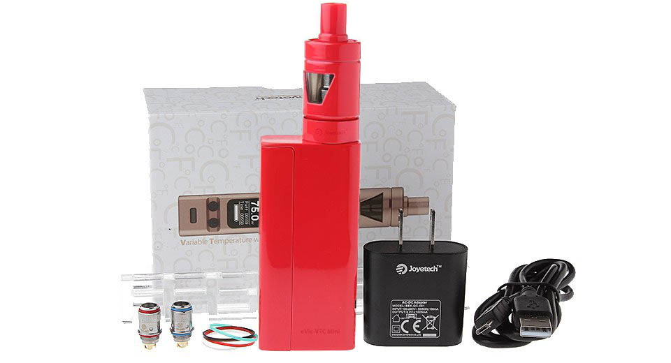 Authentic Joyetech eVic VTC Mini 75W TC VW APV Box Mod Kit