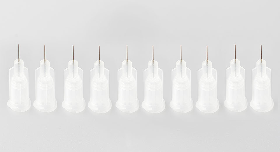 """Image of 27G 1/4"""" Stainless Steel Pinhead Dispensing Needle (10-Pack)"""