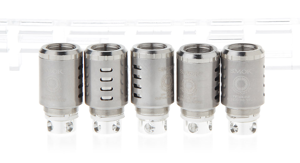 Image of Authentic Smoktech SMOK TFV4 Replacement TF-CLP2 Coil Head (5-Pack)