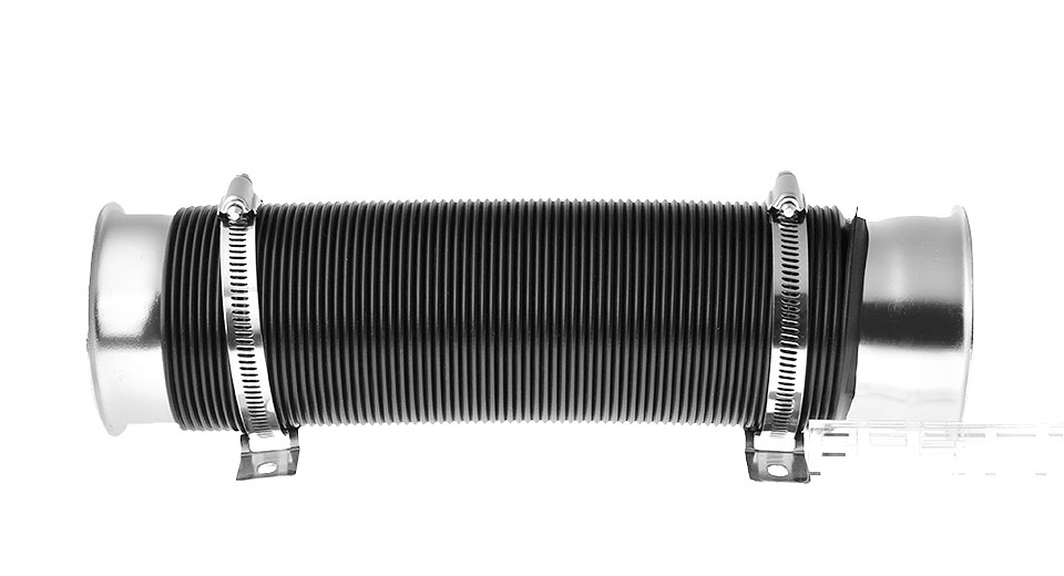 3 Flexible Car Cold Air Intake Hose Duct Pipe