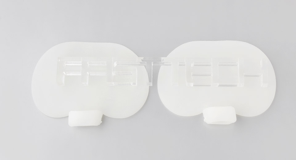 Image of Apple Shaped Silicone Medical Feet Sole Protective Pad (Pair)