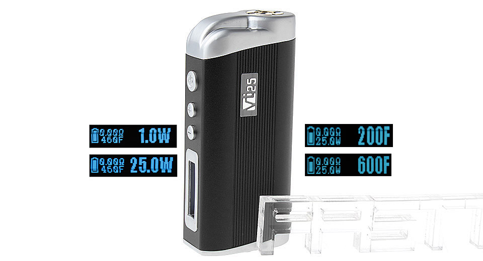 Image of Authentic Hcigar VT25 25W 2200mAh TC VW APV Mod